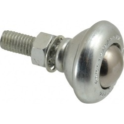 SKF 19 mm Diameter Round Ball Transfer 24.6 mm Mount Height, M8 T found on Bargain Bro India from mscdirect.com for $8.97