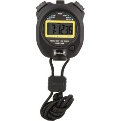 WorkSmart LCD Digital Stopwatch with Split Counter 4 Functions, 1