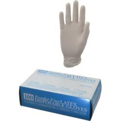 Memphis?� Small 100/pk Latex Powder Free Gloves 5054S