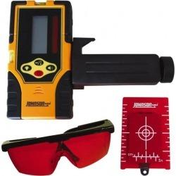 Johnson Level & Tool Laser Level 9 V Battery, Laser Detector Use