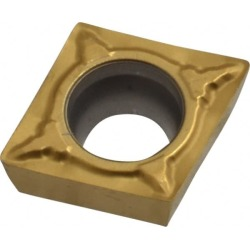 Seco CPMT32.51 F1 CP500 Grade Carbide Turning Insert TiAlN/TiN Co found on Bargain Bro from mscdirect.com for USD $11.89