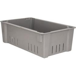 Quantum Storage 7-5/8 Inches Deep, Gray Wash Box 24 Inch Long x 7