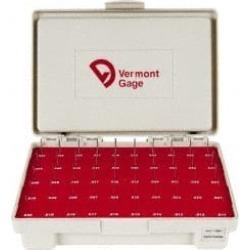Vermont Gage 240 Piece Plug and Pin Gage Set Plus Tolerance