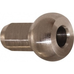 Loos & Co. Stainless Steel Single Shank Ball For 1/4 Inch Diamete