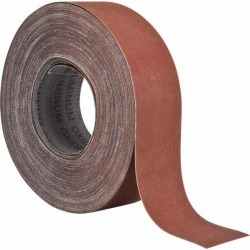 Tru-Maxx 2 Inches Wide, 320 Grit Aluminum Oxide Shop Roll 50 Yard found on Bargain Bro Philippines from mscdirect.com for $45.77