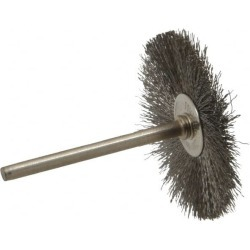 Anderson 1-1/2 Inch Brush Diameter, Crimped Stainless Steel Wheel