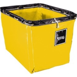 "Royal Basket Trucks 12 Bu 36x26x27.5"" Ylw Vinyl Replacement Liner"