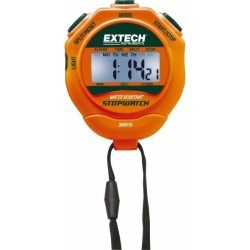 Extech Digital Stopwatch and Clock 5 Functions, 1/100 Sec Resolut
