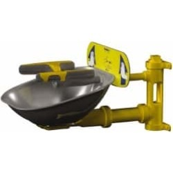 Bradley Wall Mount, Plastic Bowl, Eye and Face Wash Station