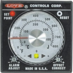 Love Controls 100 to 240 Input Voltage, 1600 Degrees Farenheit, D