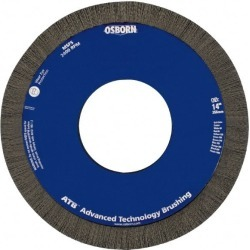 Osborn 14 Inch Brush Diameter x 1 Inch Face Width x 5-1/4 Inch Ho found on Bargain Bro Philippines from mscdirect.com for $253.19