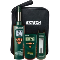 Extech LCD Display Water Restoration Kit Includes MO280 Pinless M