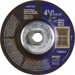 Norton 24 Grit, 4-1/2 Inch Diameter x 1/4 Inch Thick x 5/8-11 Thr found on Bargain Bro India from mscdirect.com for $3.45