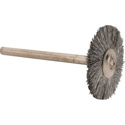 Anderson 1 Inch Brush Diameter, Crimped Steel Wheel Brush 25,000