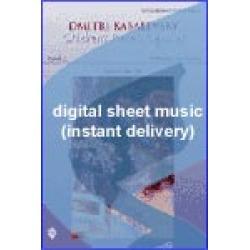 Dmitri Kabalevsky - Cradle Song - Lullaby Sheet Music (Digital Download)