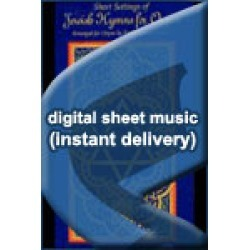 Traditional Jewish - Father, Hear the Prayer We Offer - Setting II - Sheet Music (Digital Download)