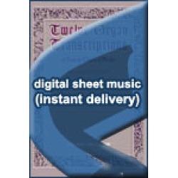 Johann Christopher Pepusch - Largo and Giga - for Organ - Sheet Music (Digital Download)