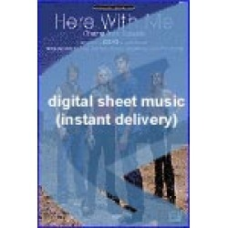 Dido - Here With Me - Sheet Music (Digital Download)