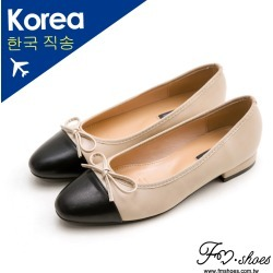 FMSHOES 韓-名媛風朵結拼接低跟包鞋 found on Bargain Bro Philippines from mydress for $60.97