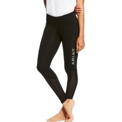 Ariat Ladies Eos Knee Patch Tights Black found on Bargain Bro UK from naylors