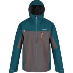 Regatta Mens Birchdale Waterproof Jacket Deep Teal/Magnet found on Bargain Bro from naylors for £40
