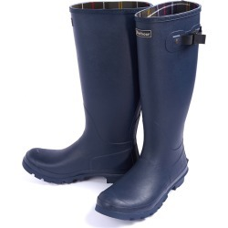 Barbour Mens Bede Wellington Boots Navy found on Bargain Bro from naylors for £65