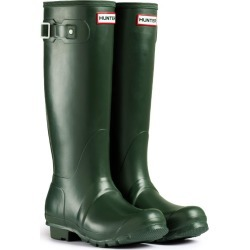 Hunter Mens Original Tall Wellington Boots Dark Olive found on Bargain Bro from naylors for £91