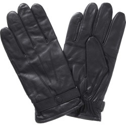 Barbour Mens Burnished Leather Thinsulate Gloves Black found on Bargain Bro UK from naylors