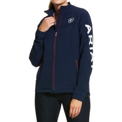 Ariat Ladies Agile Softshell Jacket Team Navy found on Bargain Bro UK from naylors