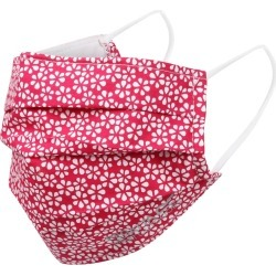 Regatta Triple Layer Face Covering 3 Pack Dark Cerise Scattered Floral found on Bargain Bro UK from naylors