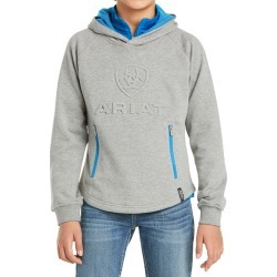 Ariat Childs 3D Logo Hoodie Heather Grey found on Bargain Bro UK from naylors