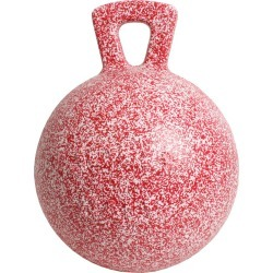 Horsemen's Pride Inc Jolly Ball Peppermint Scented Red/White Speckle found on Makeup Collection from naylors for GBP 29.1