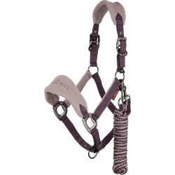 LeMieux Vogue Fleece Headcollar and Leadrope Musk found on Bargain Bro UK from naylors