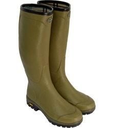 Le Chameau Mens Country Vibram Wellington Boots Green found on Bargain Bro from naylors for £131
