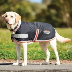 WeatherBeeta 1200D Therapy-Tec Dog Coat Black/Silver/Red found on Bargain Bro from naylors for £40