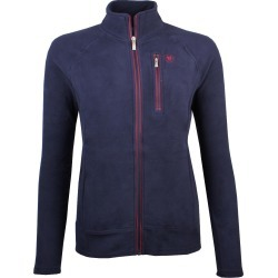 Ariat Ladies Basis 2.0 Zip Fleece Jacket Navy found on Bargain Bro UK from naylors
