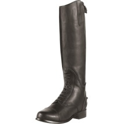 Ariat Junior Bromont Tall H2O Riding Boots Oiled Black found on Bargain Bro UK from naylors
