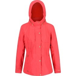 Regatta Ladies Narelle Lightweight Waterproof Funnel Neck Jacket Red Sky found on Bargain Bro UK from naylors