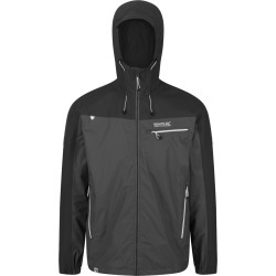 Regatta Mens Highton Stretch Waterproof Jacket Black Magnet found on Bargain Bro from naylors for £56