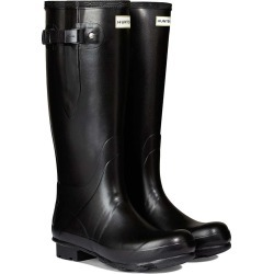 Hunter Mens Norris Field Side Adjustable Neoprene Lined Wellington Boots Black found on Bargain Bro from naylors for £99