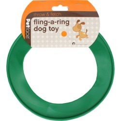 Petface Fling-a-ring Large Green found on Bargain Bro UK from naylors