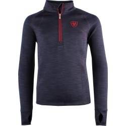 Ariat Childs Tek Team 1/2 Zip Sweatshirt Navy found on Bargain Bro from naylors for £45