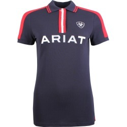 Ariat Ladies Team Polo Navy found on Bargain Bro UK from naylors
