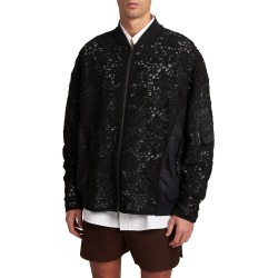 Men's Macrame Bomber Jacket found on Bargain Bro India from neimanmarcus.com for $3550.00