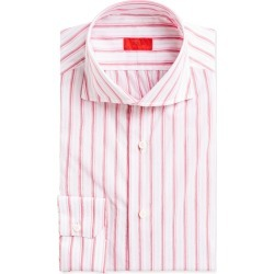 Multi-Stripe Cotton Dress Shirt, Pink found on Bargain Bro from neimanmarcus.com for USD $171.76