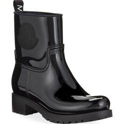 Ginette Stivale Patent Rain Booties found on MODAPINS from neimanmarcus.com for USD $395.00
