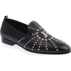 Men's Studded Logo Leather Loafers found on Bargain Bro Philippines from neimanmarcus.com for $625.00