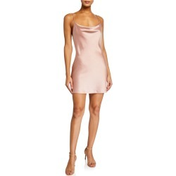 Harmony Draped Satin Slip Dress found on Bargain Bro Philippines from neimanmarcus.com for $295.00