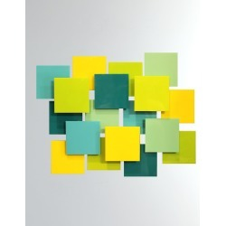Playtime Glass Wall Sculpture