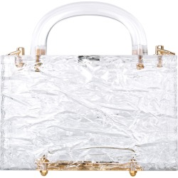 Leon Crushed Ice Clear Acrylic Top-Handle Bag found on MODAPINS from neimanmarcus.com for USD $990.00
